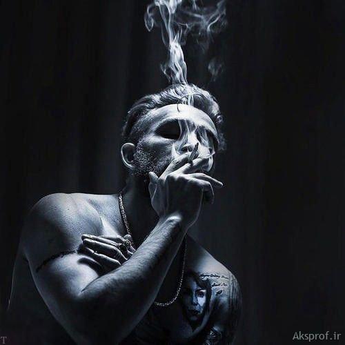 عکس پروفایل سیگار مردانه