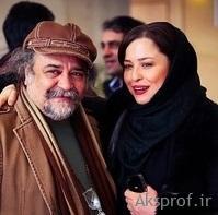 عکس لورفته «مهراوه شریفی نیا» آغوش آقای بازیگر