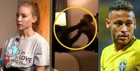 عکس دختر که نیمار بهش تجاوز کرده