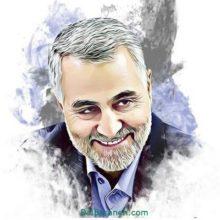 نقاشی-سردار-سلیمانی-1