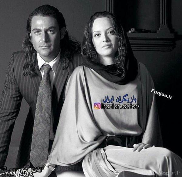 عکس لورفته زن سابق آقای بازیگر در بغل محمدرضا گلزار + عکس